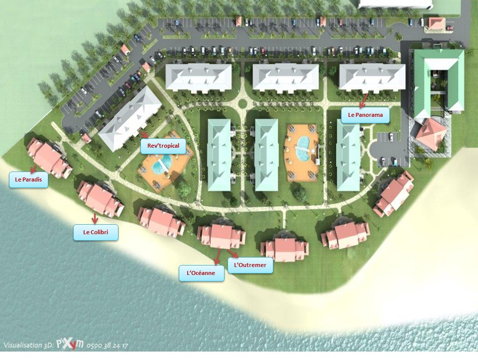 Plan crystal beach 1